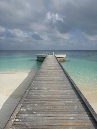 Huvafen Fushi Maldives: salt water pool