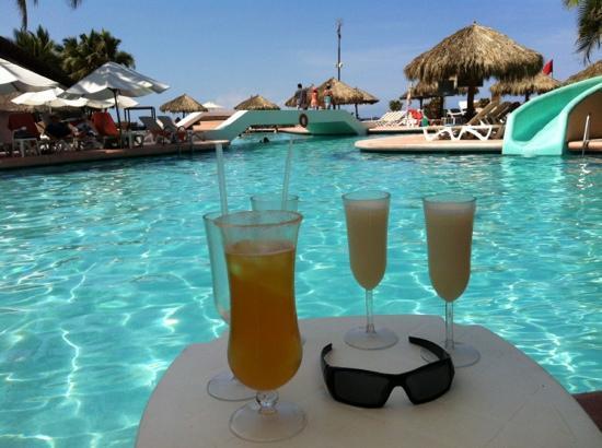 Sunscape Dorado Pacifico Ixtapa: bebidas refrescantes