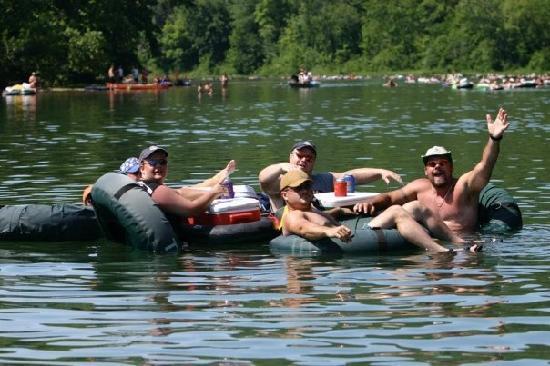 The Landing Canoe And Trips Float Cur River In Van Buren At