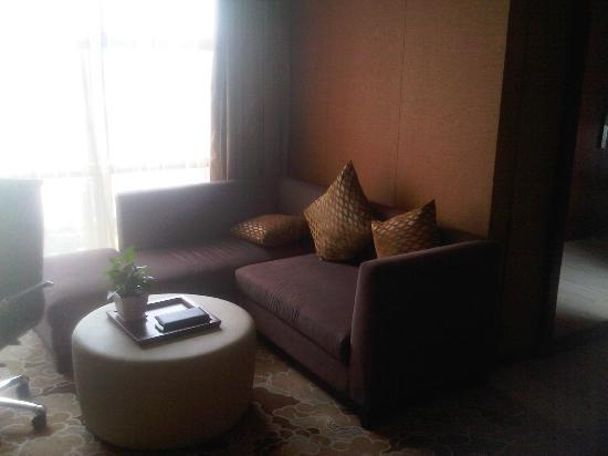 Radisson Blu Hotel Liuzhou Living Room Affords Separation From Bedroom Good Work Space