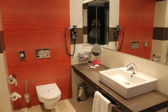 Ramada Sibiu: Stylish bathroom