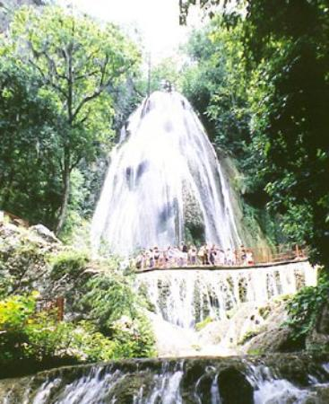 Hotel Hacienda Monterrey : Waterfall