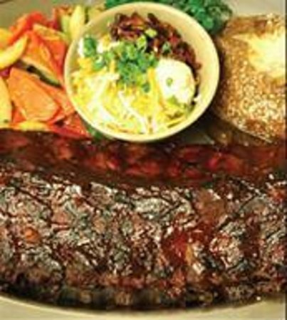 Saddle Ranch Chop House: Steak!