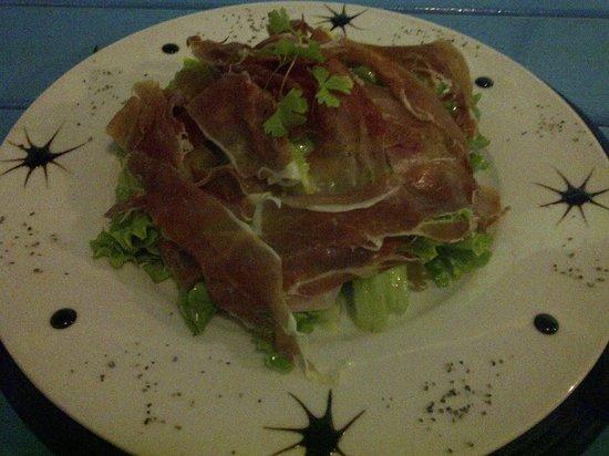 Blue Jardim - Cafe e Restaurante: Salada de Presunto