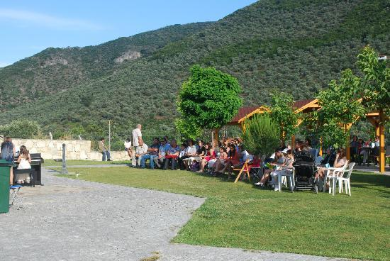 Natureland Efes Pension: An unexpected piano recital, what fun!