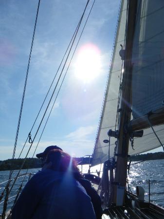 Silverlining Sailing: Perfect sailing day
