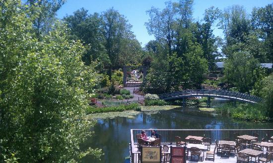 Creation Museum: Botanical Gardens View