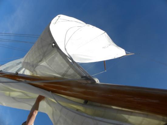 Silverlining Sailing: Sails up!