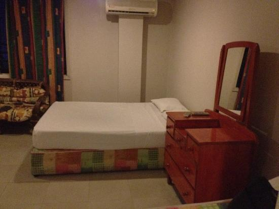 Tropic of Capricorn: This is the double bed and there are bunk beds and single bed in the room