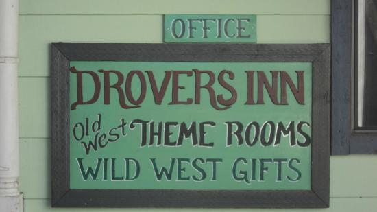 Drover's Inn: Don't forget this name