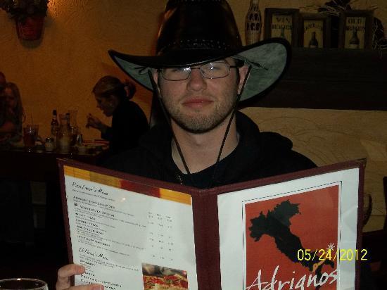Adriano's Italian Restaurant : Ordering at Adriano's