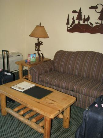 Great Wolf Lodge Kansas City: Nice room...