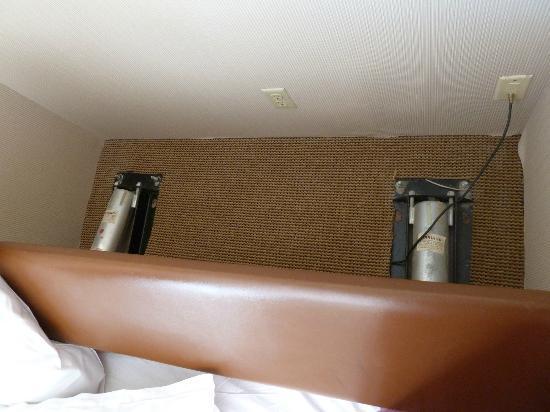 Sheraton Inner Harbor Hotel: Blick hinter das Bett