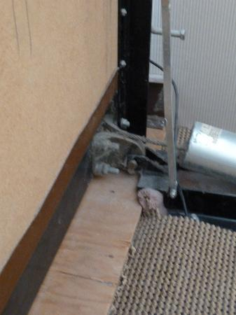 Sheraton Inner Harbor Hotel: Hydraulikzylinder zum Bett einklappen