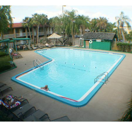 Magnuson Hotel Clearwater Central: Great Big Clean Pool with Outdoor Grill