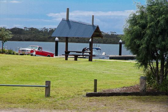 Angler's Rest: Boat ramp