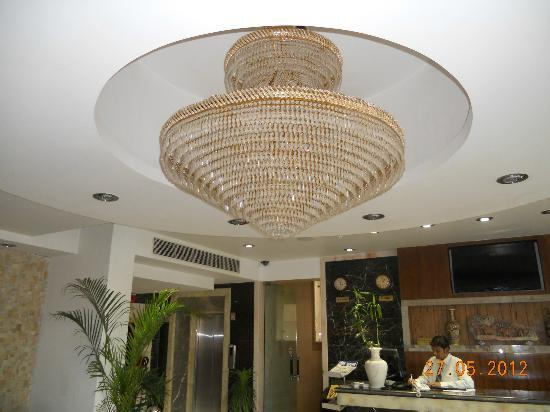 Hotel Taj Resorts: Reception area