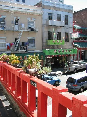 Chinatown Restaurant: View from the balcony