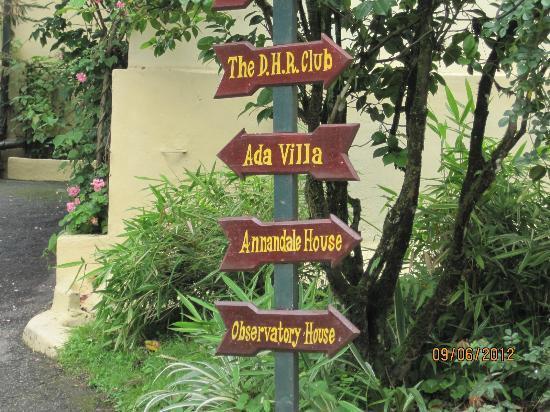 Windamere Hotel: Quaint names. 