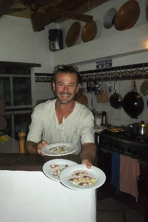 Posada Tropicana: cocina