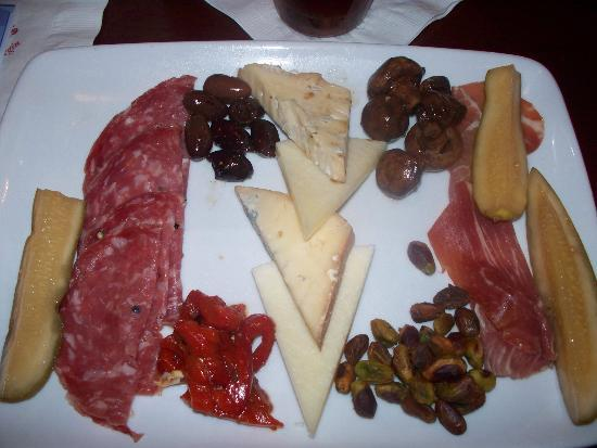 Mama Melrose's Ristorante Italiano : Mama's Antipasto for Two - selection of Italian meats, cheeses, and marinated vegetables $14.99