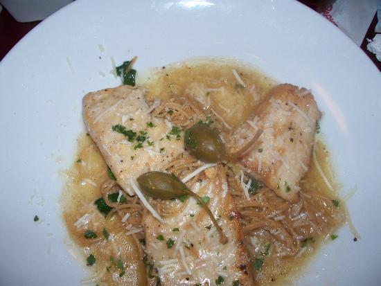 Piccata di pesce fresh fish sauteed in a white wine for White wine butter sauce for fish