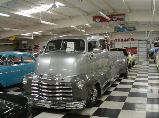 Route 66 Auto Museum: check out this chevy cab over truck