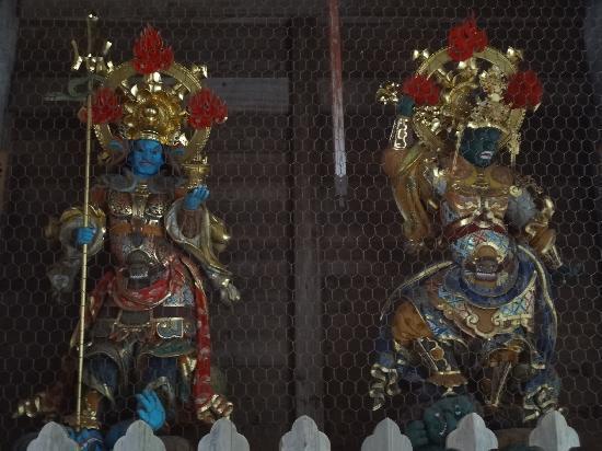 Eiheiji-cho, Japan: 迫力満点の像たち