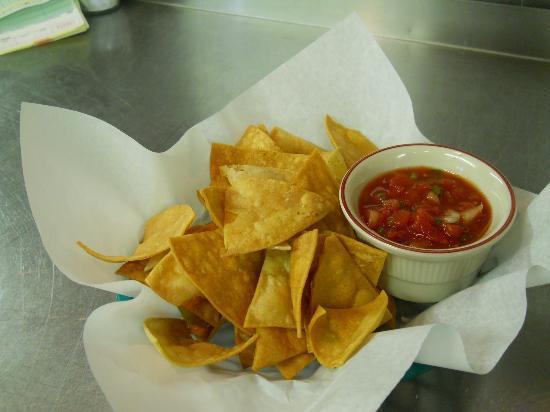 South Park Steakhouse: Fresh Chips & Salsa