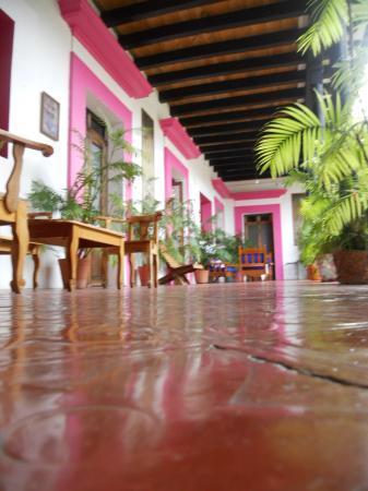 Posada Casa Juana: vista de un corredor