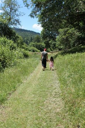 Doubletree Ranch: trail mowed by hosts