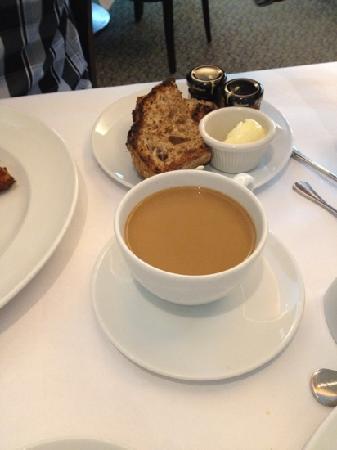Heathman Restaurant & Bar: coffee, toast