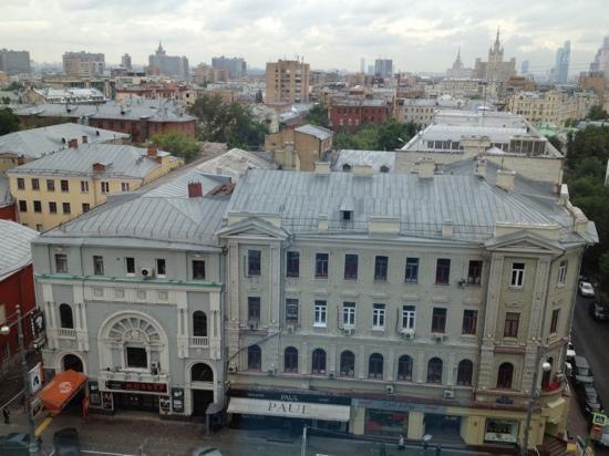 InterContinental Moscow Tverskaya Hotel: blick von exec. suite 916