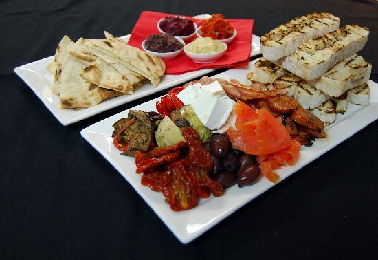 Red Ochre Grill Restaurant Alice Springs: Tapas, dips & Wine deal for 2 - $49