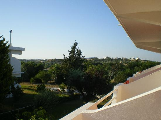 Loutanis Hotel: view from balcony south