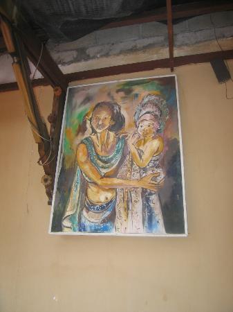 SA CAFE & CLUB: wall pics