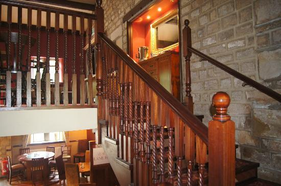 The Hopper Lane Hotel : Stairs to First Floor Function Room