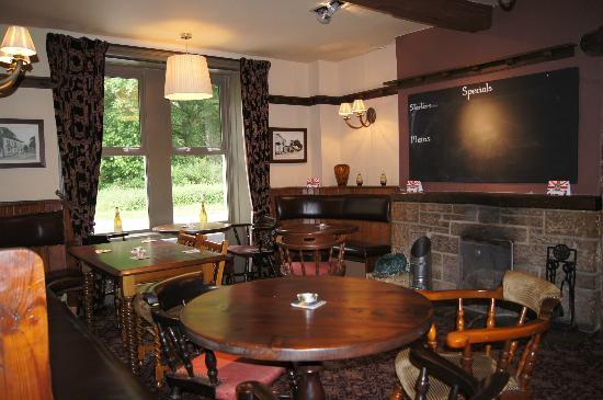 The Hopper Lane Hotel: One of a number of sitting and dining rooms
