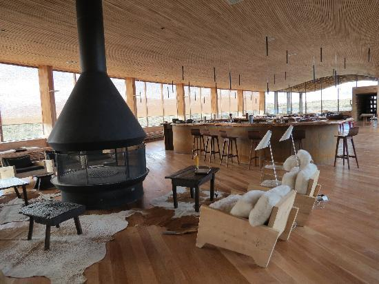 """Tierra Patagonia Hotel & Spa: The """"Living Room"""""""