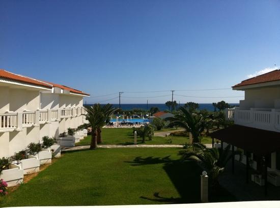 Chryssana Beach Hotel: desde mi habitación