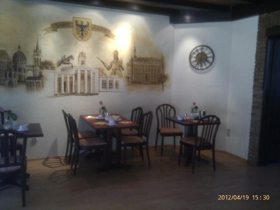 Berliner Hof: Frühstücksraum