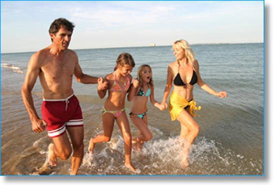 La Côte d'Argent : Vacances famille