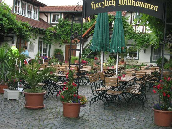Roemerberg, Tyskland: Innenhof