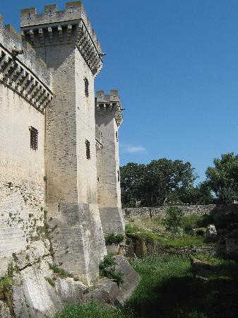 Tarascon, Frankreich: The castle and the moat