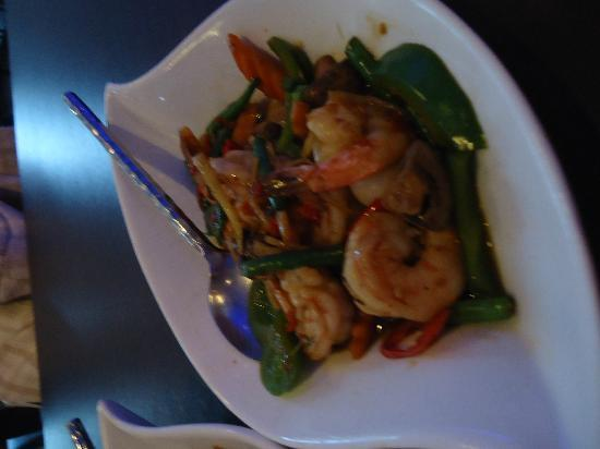 Charm Thai: lovely big prawns