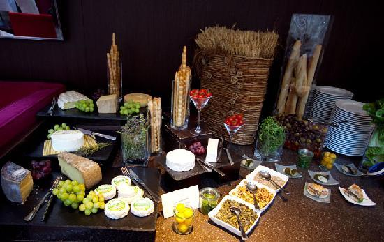 Atrium Sunday Brunch: Choice of authentic French cheeses