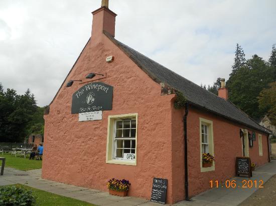 Isle of Arran, UK: The Wineport Bistro