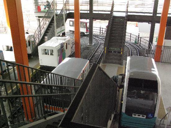 The Railway Museum: 本物のように電車の運転ができます