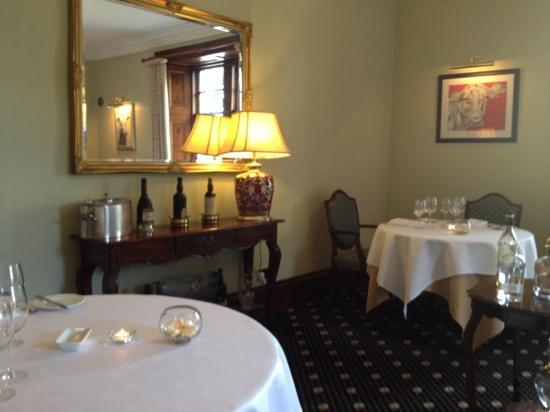 Blackaddie Country House Hotel: Dining room with understated style