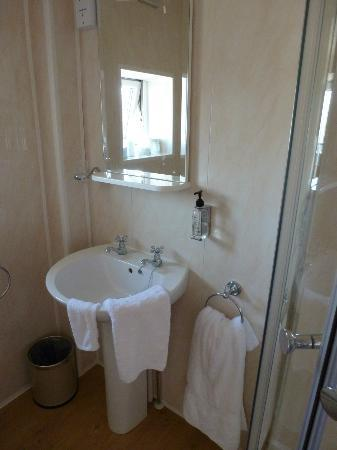 The Leicester: Good shower with all the little extras provided
